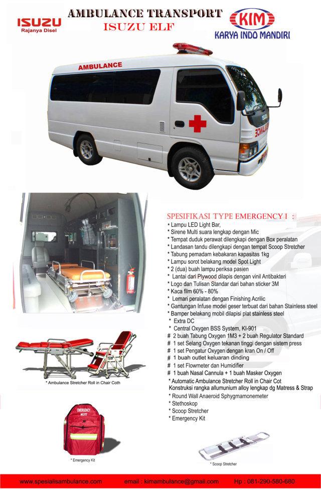 ISUZU ELF EMERGENCY 1 res