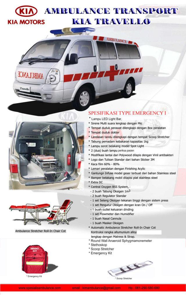 Kia Travello EMERGENCY 1a res