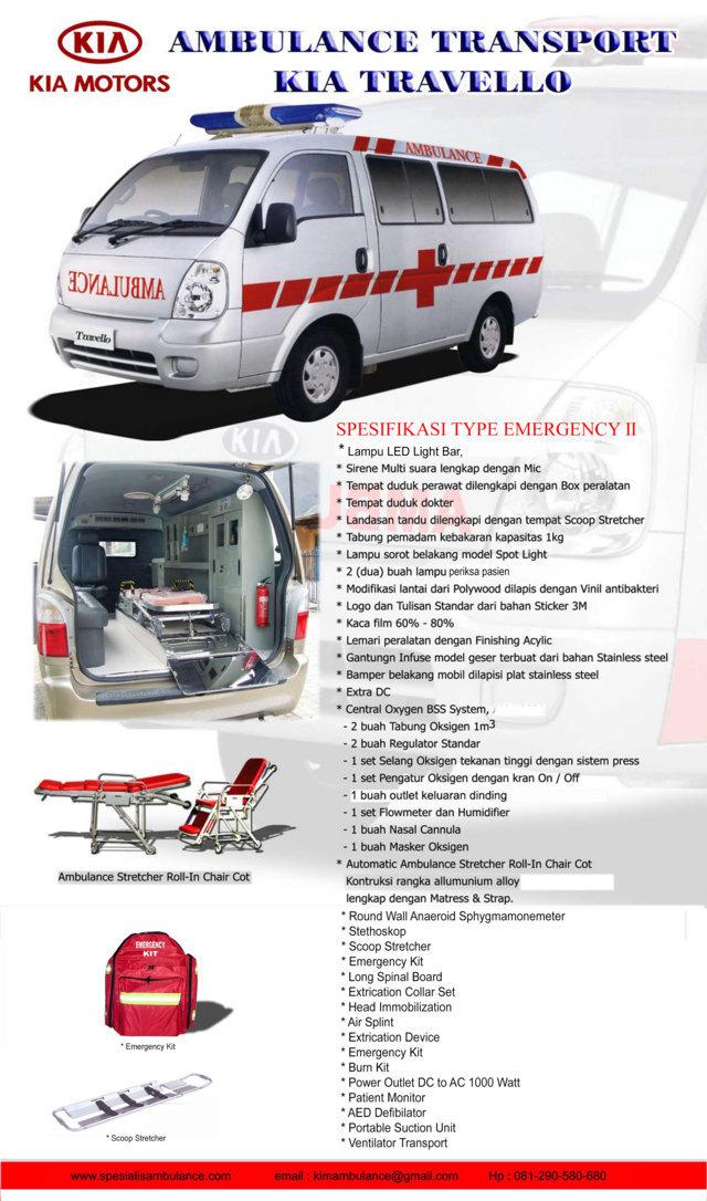 Kia Travello EMERGENCY 2a res