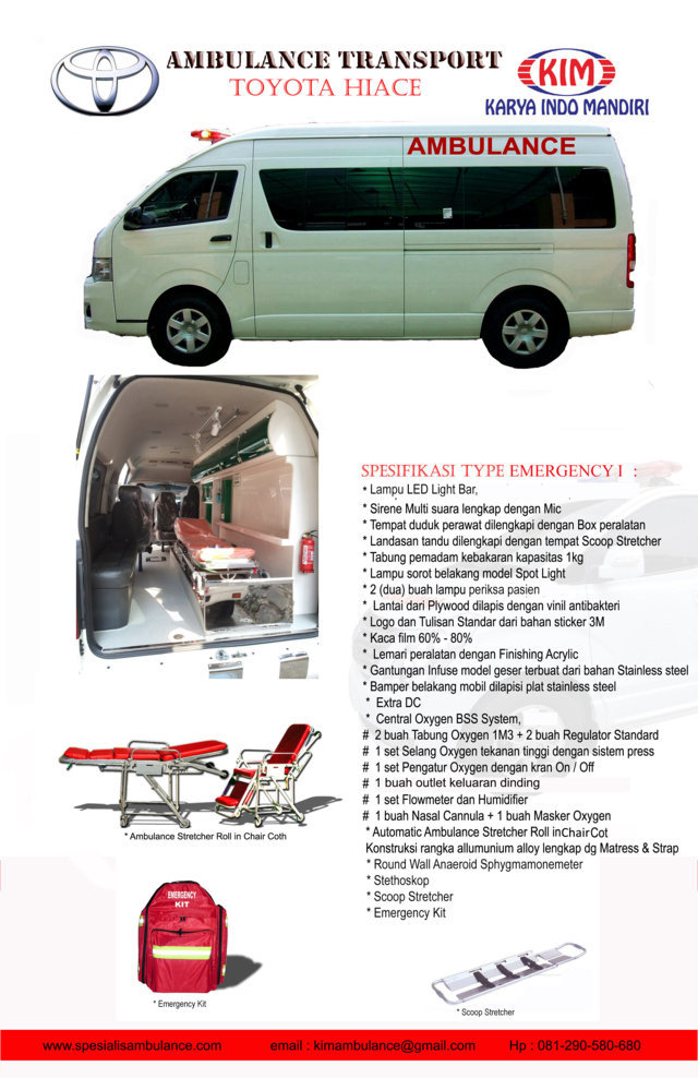 TOYOTA HIACE emergency 1 copy res