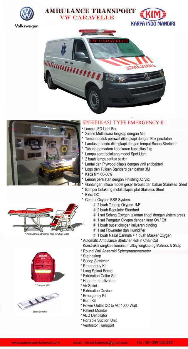 VW CARAVELLE EMERGENCY 2a res